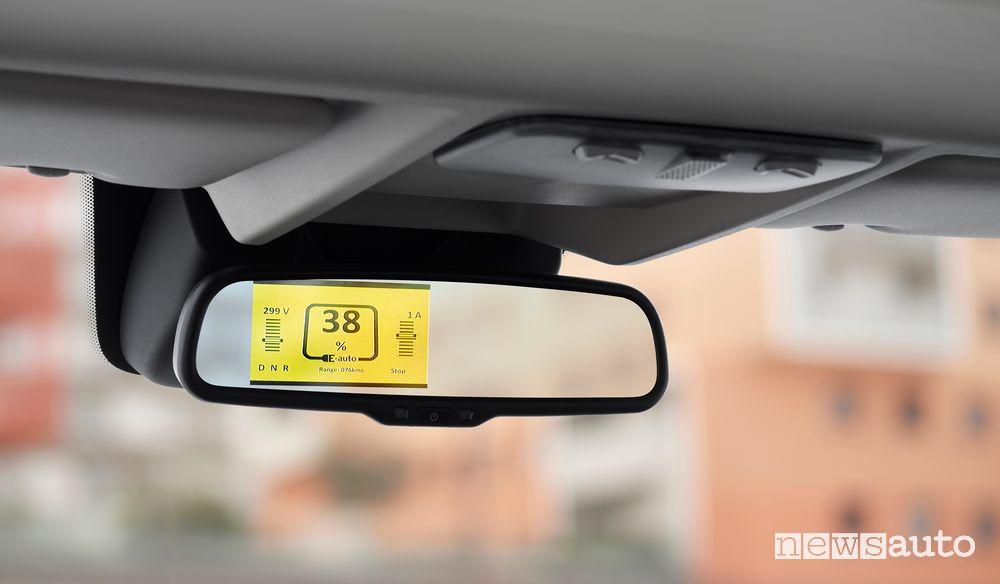 Specchietto retrovisore abitacolo Citroën ë-Jumper elettrico