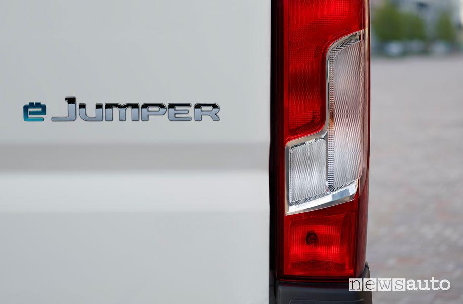 Logo portellone esterno Citroën ë-Jumper