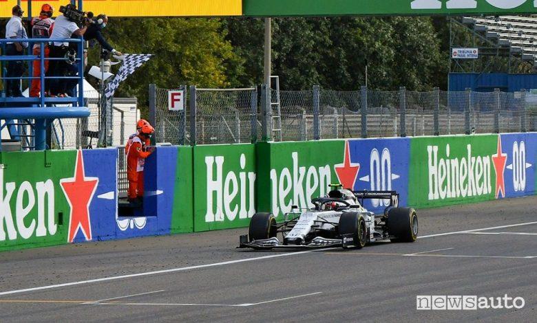 F1 Gp Italia a Monza 2020, vittoria AlphaTauri con Gasly