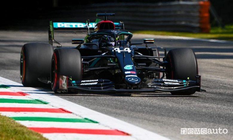 Qualifiche F1 Gp Italia Monza 2020, la griglia di partenza