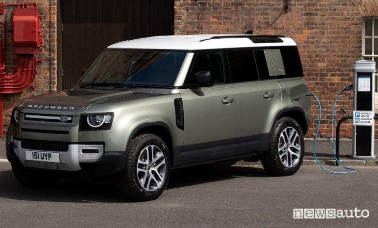 Land Rover Defender 110, ibrido plug-in PHEV, caratteristiche