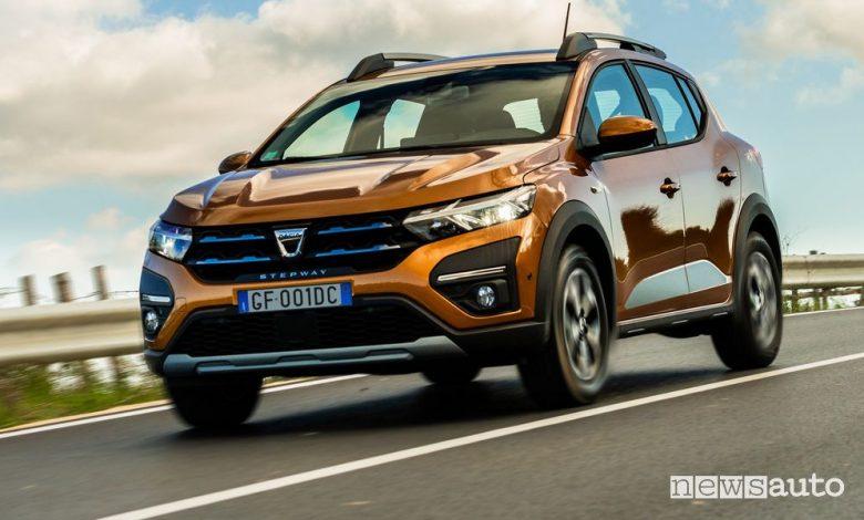 Nuova Dacia Sandero e Sandero Stepway, caratteristiche e prezzi