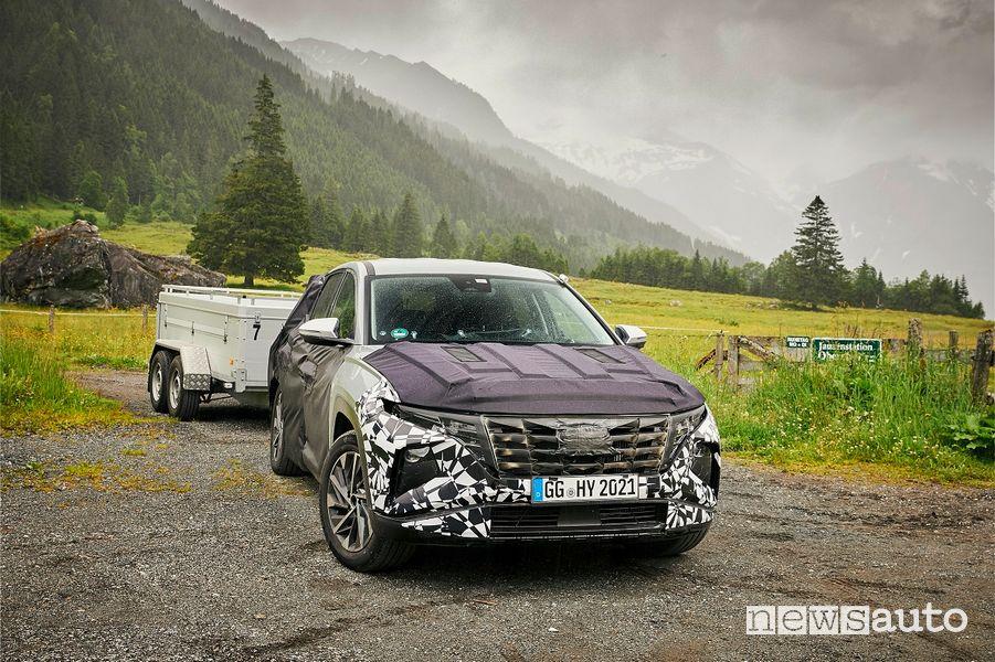Nuova Hyundai Tucson test al Nürburgring, in Svezia, Austria, Spagna e Repubblica Ceca