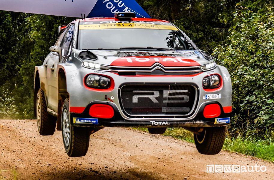 Rally Estonia vittoria Citroën C3 R5 nel WRC2