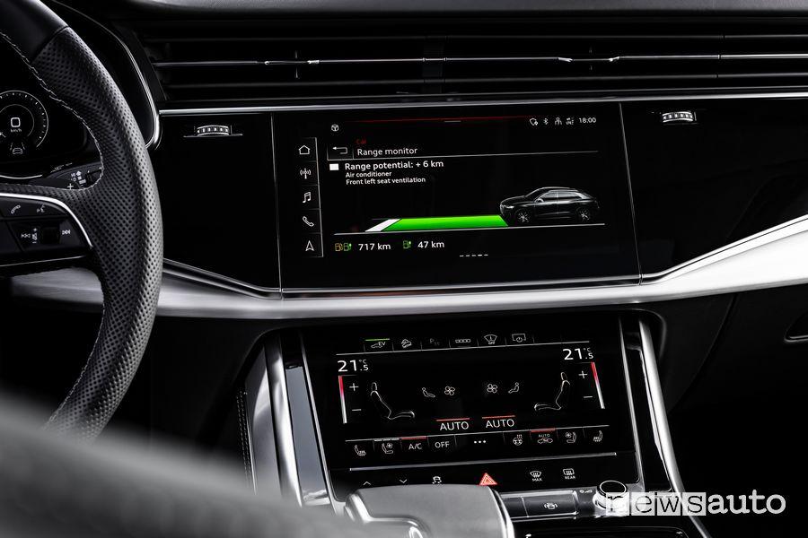 Info autonomia Audi Q8 TFSI e quattro