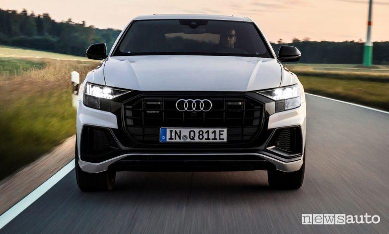 Audi Q8 TFSI e quattro ibrido plug-in, caratteristiche