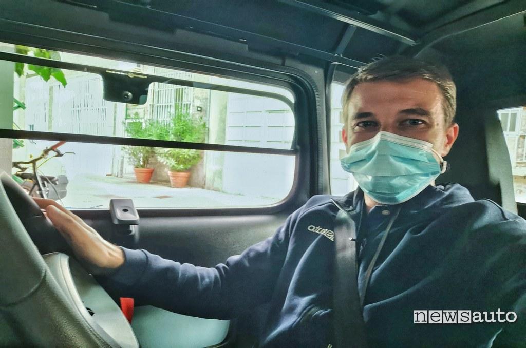 Citroen Ami prova su strada con Marco Paternostro