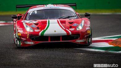 Photo of Gare Gran Turismo GT3 e GT4 a Monza, risultati e foto