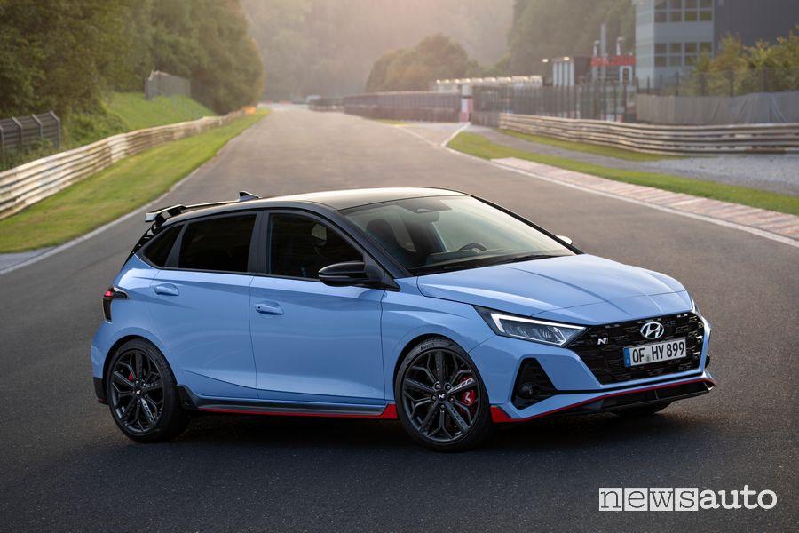 Nuova Hyundai i20 N