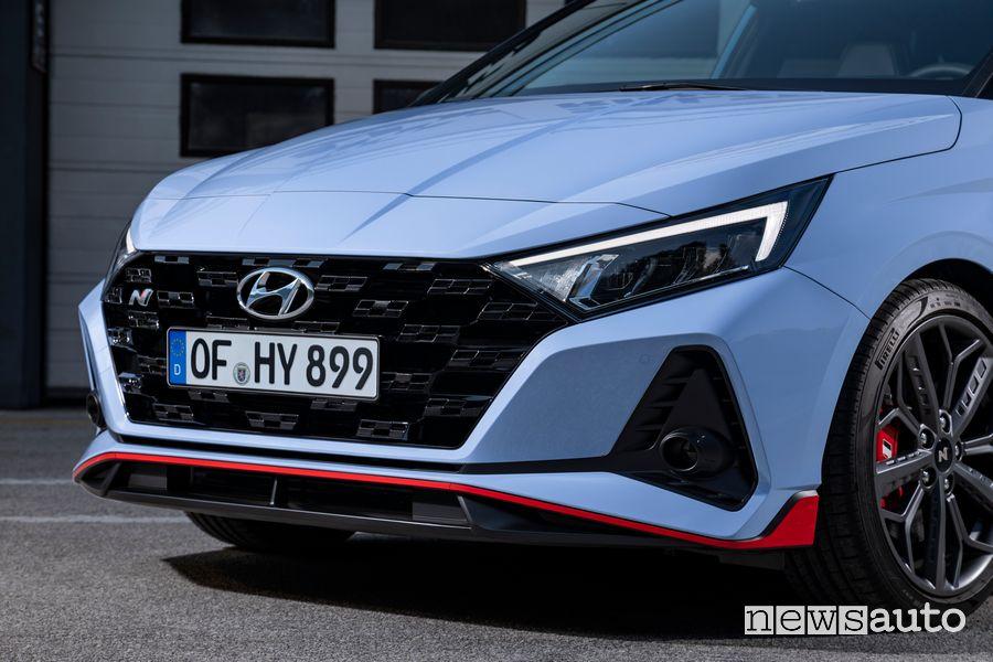 Paraurti e griglia anteriori Hyundai i20 N