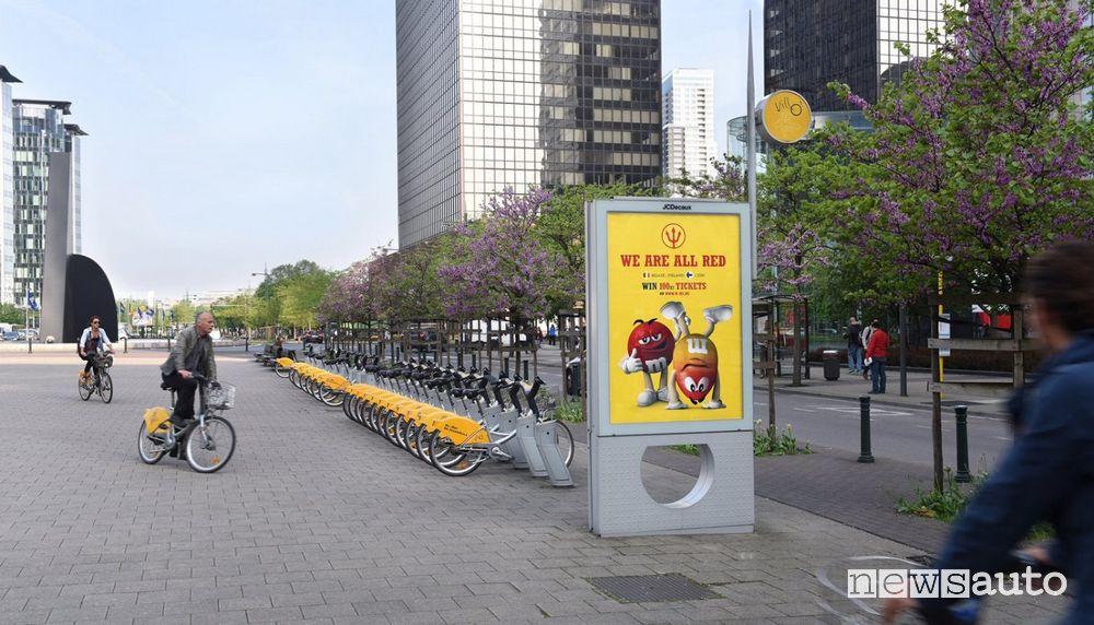 Il bike-sharing di JCDecaux è presente in 76 città del mondo