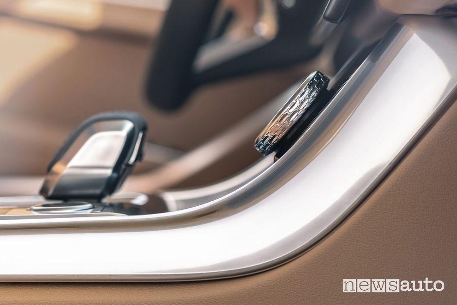 Leva cambio automatico abitacolo Jaguar XF Sportbrake