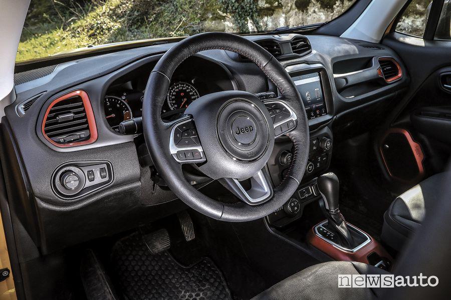 Volante abitacolo Jeep Renegade Trailhawk