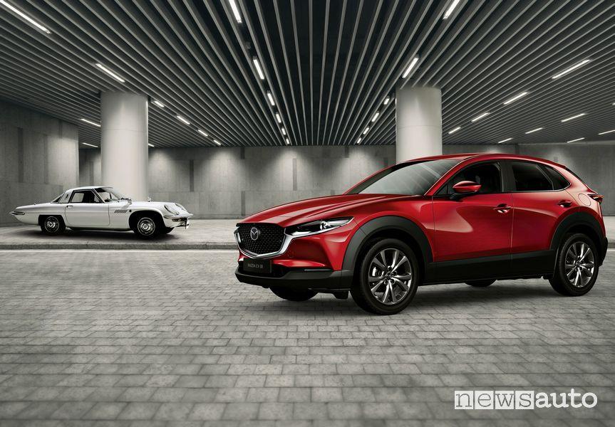 Mazda Cosmo Sport 110 S e Mazda CX-30