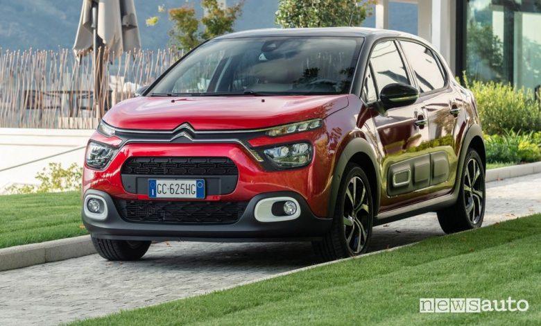 Citroën C3 auto in pronta consegna