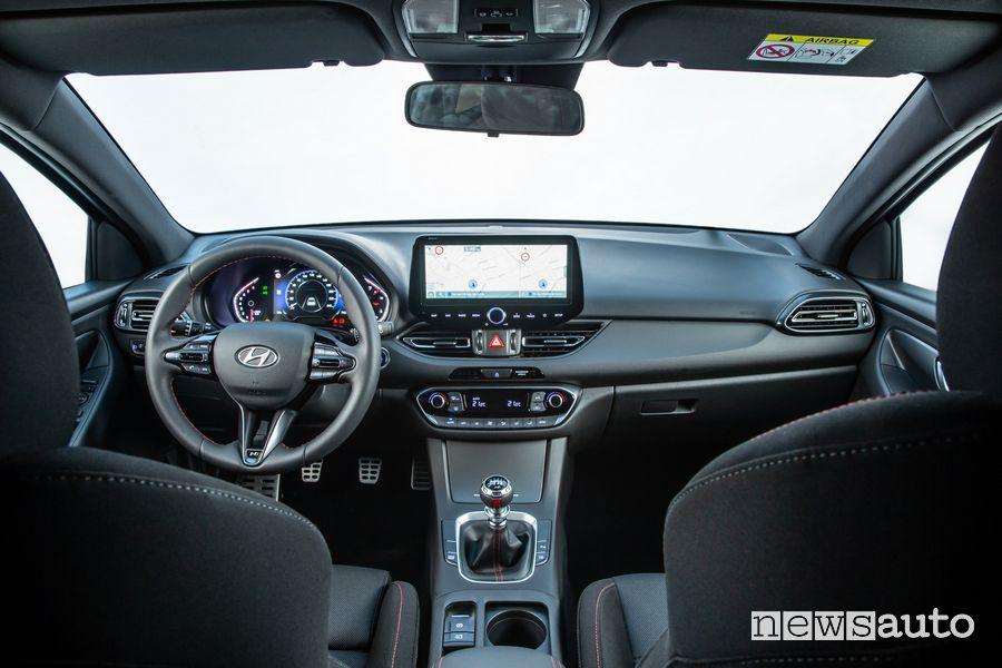 Plancia strumenti abitacolo nuova Hyundai i30 N Line