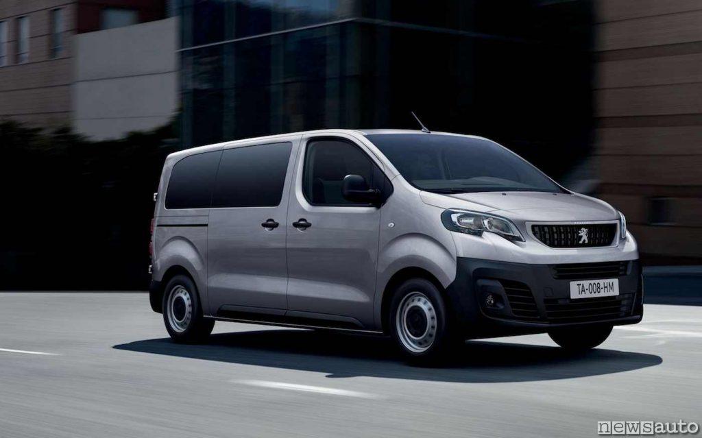 Peugeot e-Expert elettrici Poste Italiane