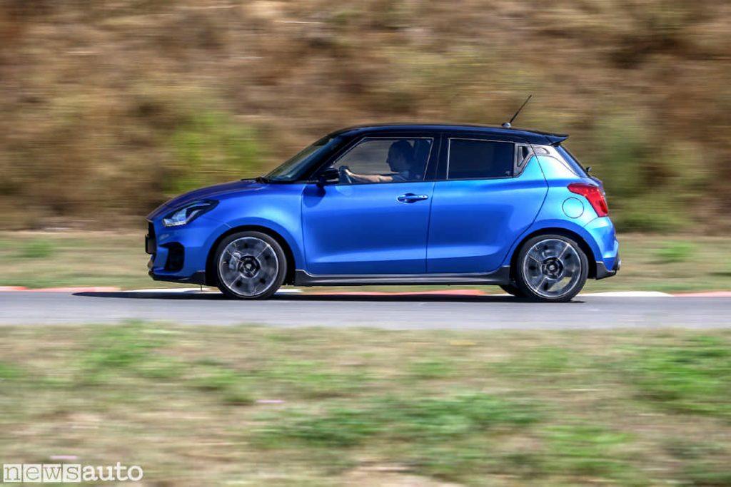 Nuova Suzuki Swift Sport Hybrid, Il successo delle vendite porta all'aumento della quota di mercato per Suzuki