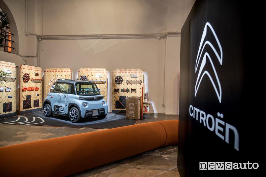 Citroën Ami può essere guidata con patente AM, a partire dai 14 anni