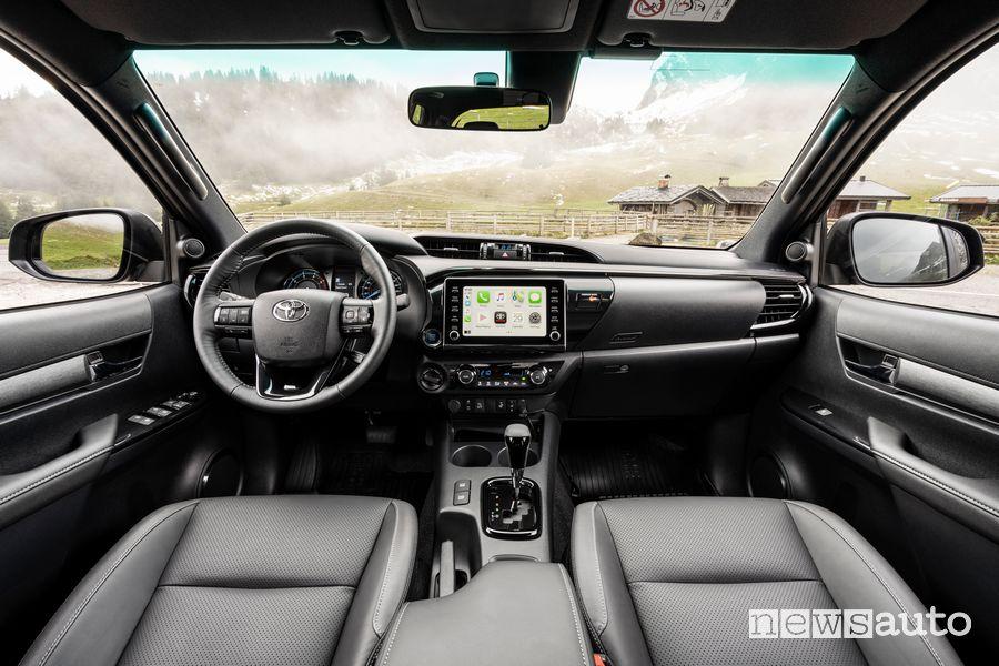 Plancia strumenti abitacolo Toyota Hilux Invincibile