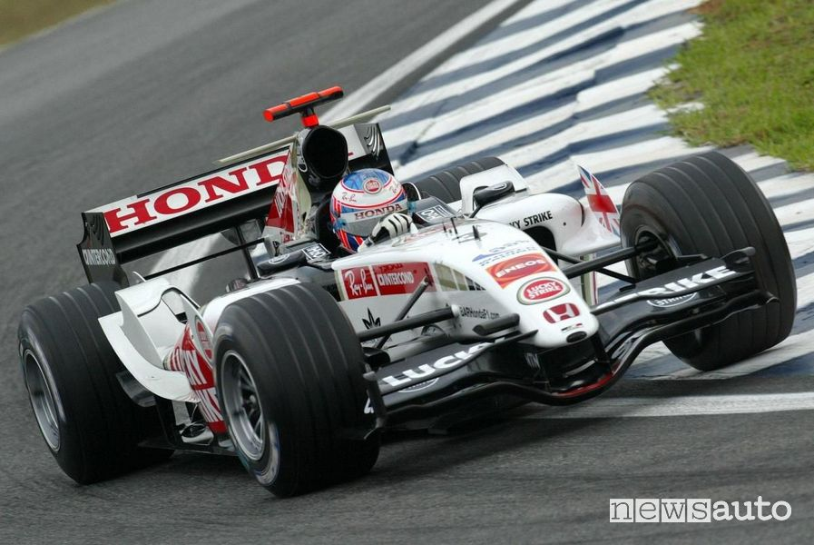 Bar Honda in F1 dal 2006 al 2008