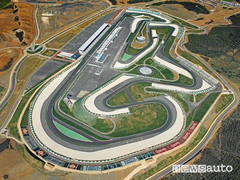 F1 Gp Portogallo 2021 pista di Portimao