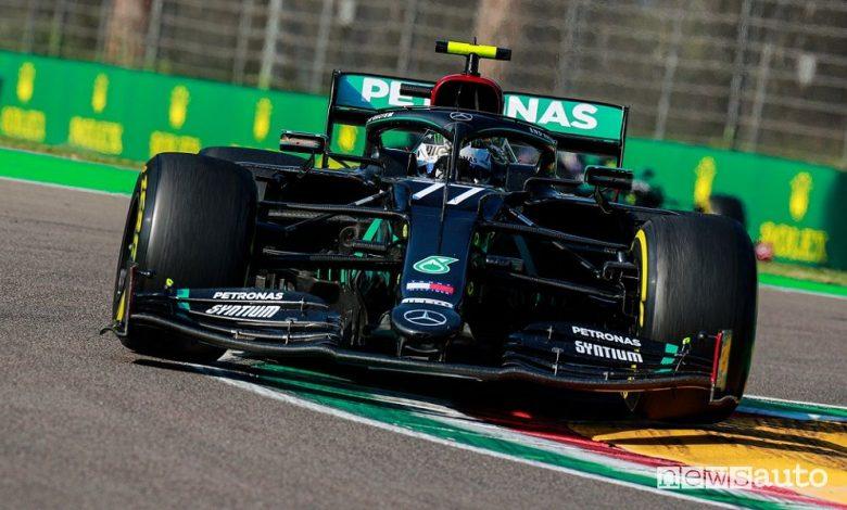 Qualifiche F1 Gp Emilia Romagna ad Imola, la griglia di partenza