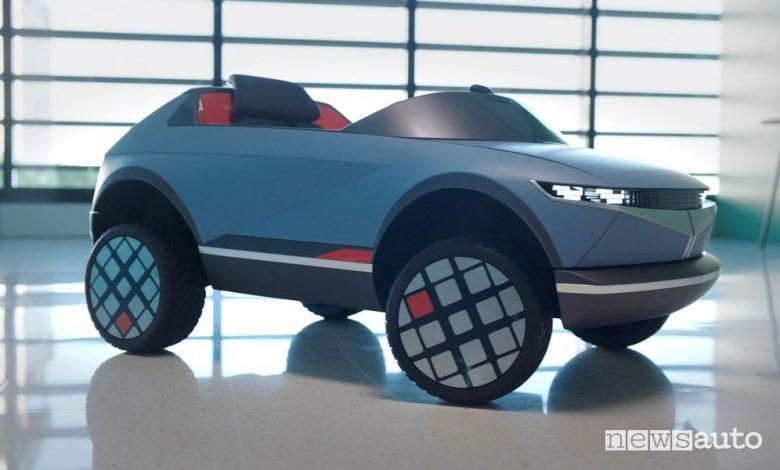 Auto elettrica per bambini, arriva la piccola Hyundai EV