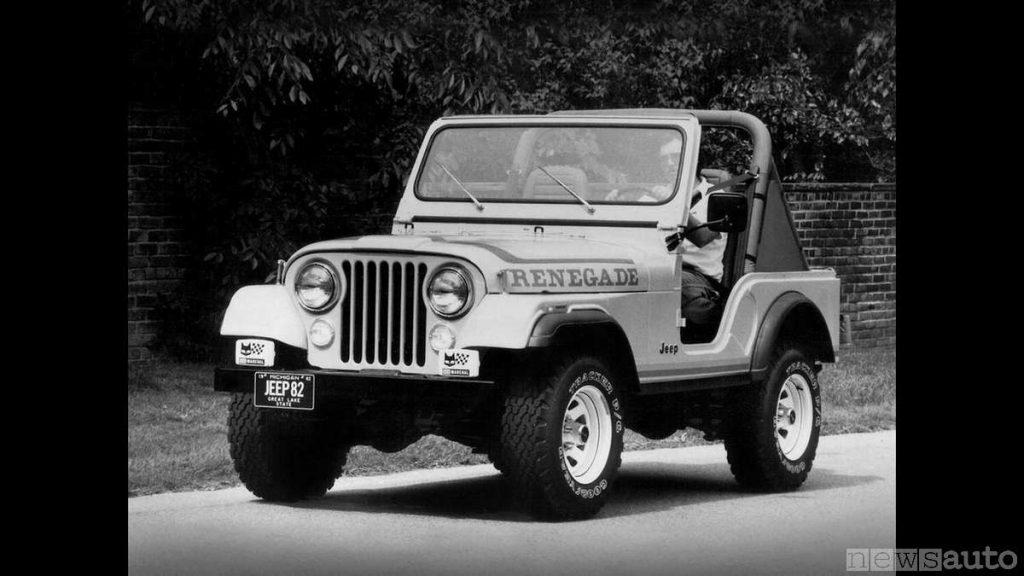 Jeep Renegade 1981-1982 (fuoristrada storico, auto storica)