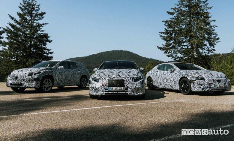 Auto elettriche Mercedes-Benz, nuovi modelli EQ in arrivo