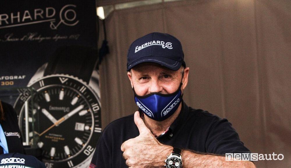 Miki Biasion uno dei grande protagonisti fra le Legend Stars al Rallylegend 2020