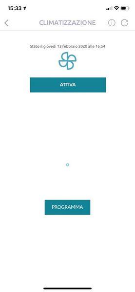App MyCitroën, funzione precondizionamento dell'abitacolo