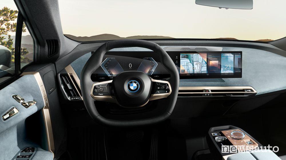 Volante abitacolo BMW iX