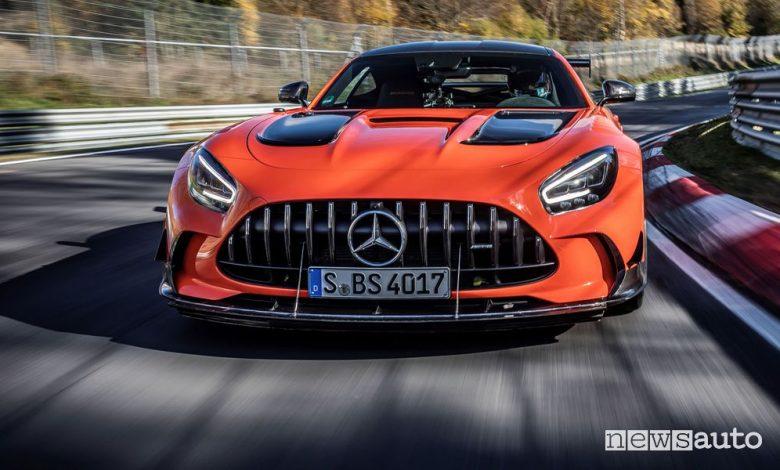 Mercedes-AMG GT Black Series, record al Nurburgring