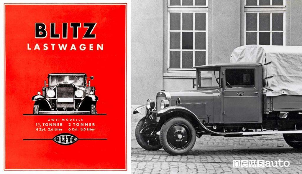 Opel Blitz autocarro del 1930