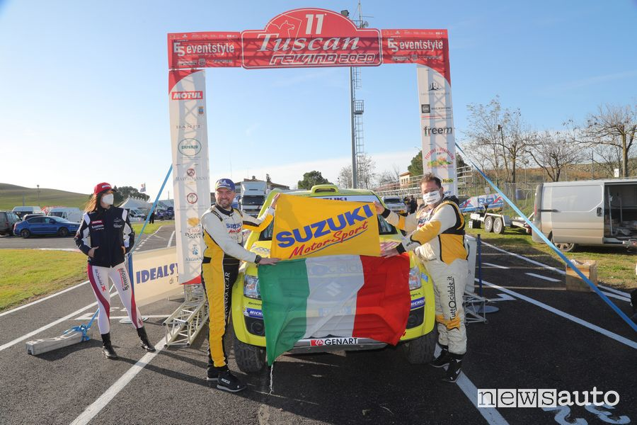 Codecà/Toffoli su Suzuki Gran Vitara T1 campioni italiani Cross Country 2020