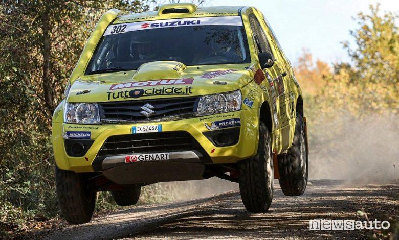 Codecà/Toffoli su Suzuki Gran Vitara T1 al 1° Tuscan Rewind Cross Country