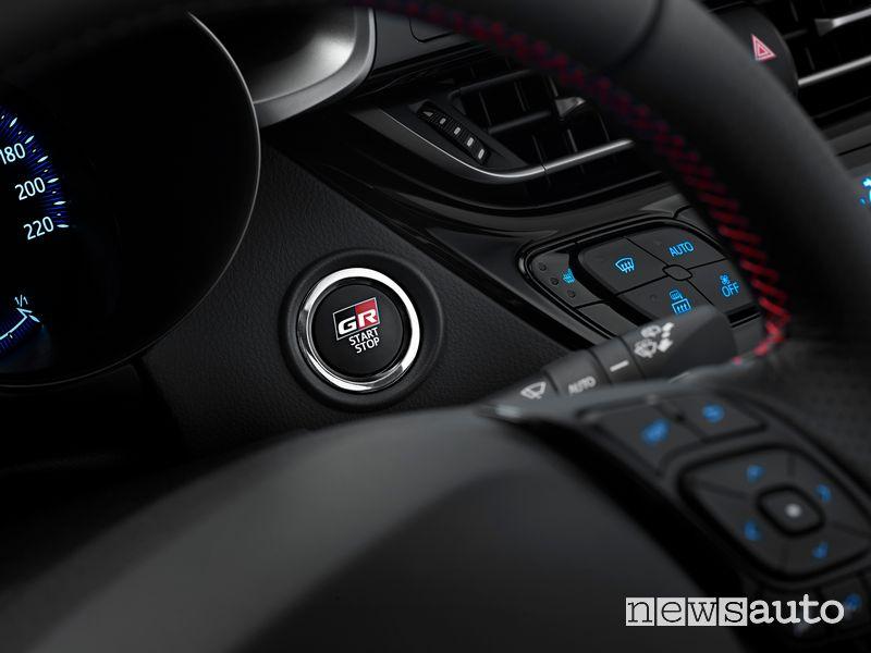 Tasto accensione abitacolo Toyota C-HR GR Sport