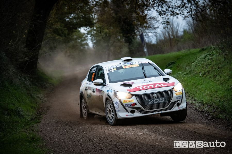 Peugeot 208 Rally 4 Peugeot Competition 2021
