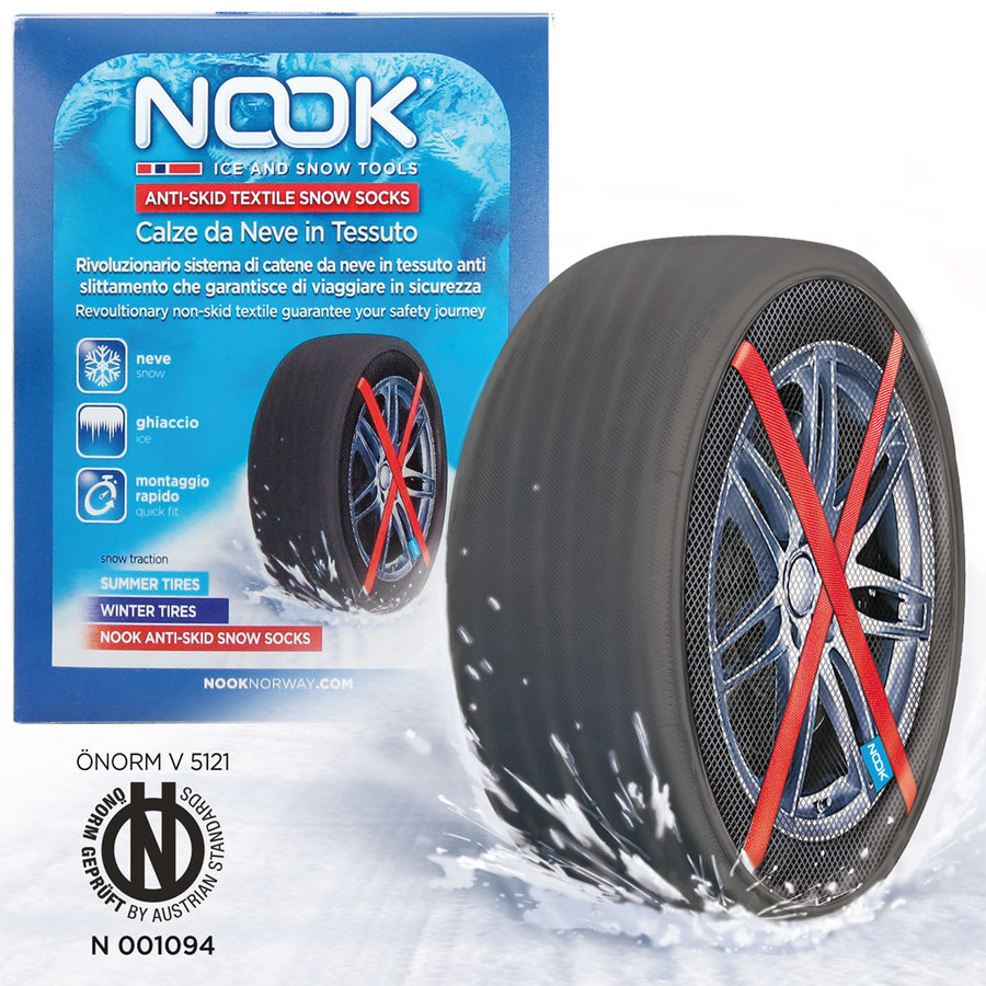 Calze da neve in tessuto Nook by Speedup