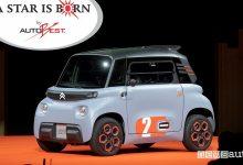 """Photo of Citroën Ami, vince il premio AutoBest """"A Star Is Born"""""""