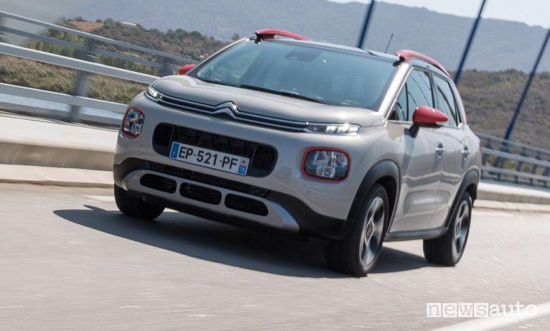 Citroën C3 Aircross diesel BlueHDi 110, caratteristiche e prezzi