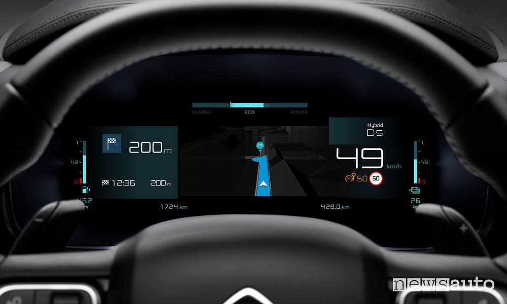 Quadro strumenti digitale Citroën C5 Aircross Hybrid Plug-in