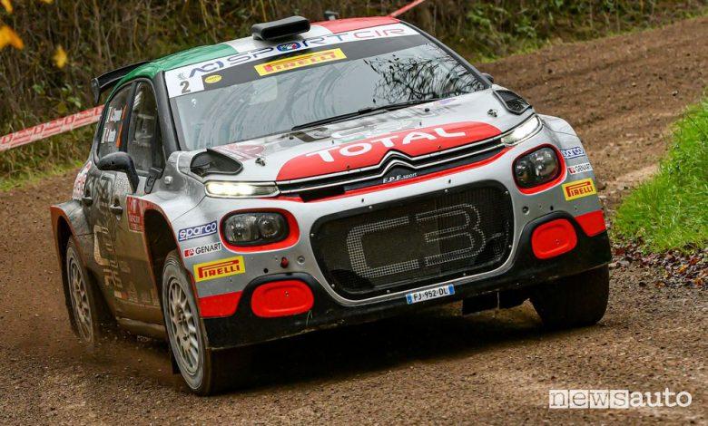Citroën e Peugeot campioni italiani Rally, vittoria al Tuscan Rewind 2020