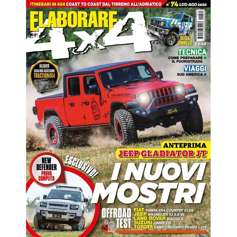 Magazine ELABORARE con la prova integrale del Rubicon Gladiator JT