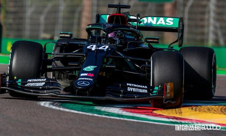 F1 Gp Emilia Romagna, Mercedes Campione del Mondo a Imola [foto classifiche]