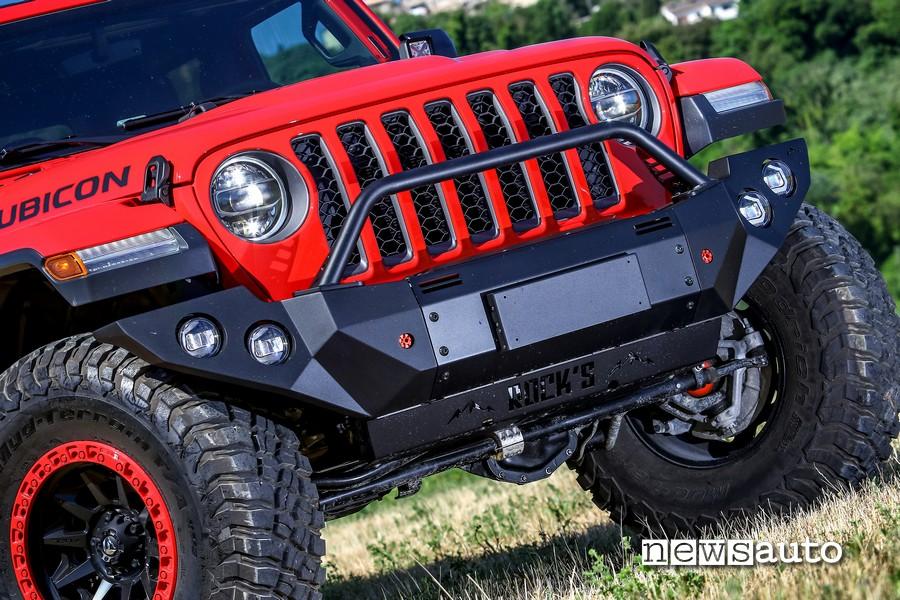 jeep rubicon gladiator paraurti anteriore