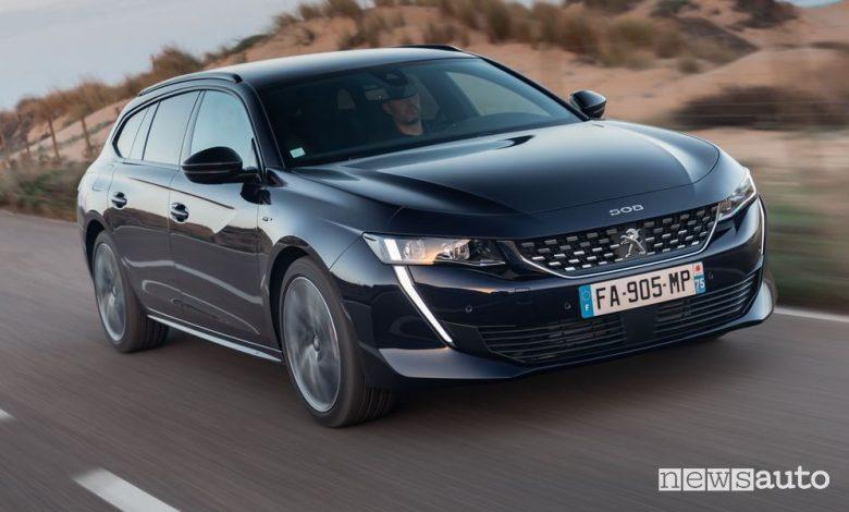 Peugeot 508 2022, nuova gamma, allestimenti e prezzi