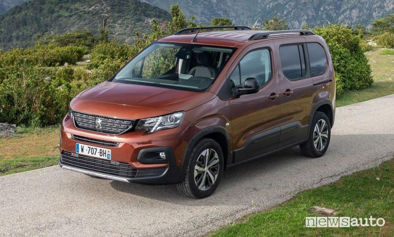 Peugeot Rifter, nuova gamma, allestimenti e prezzi