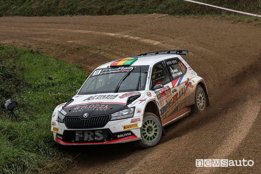 Rally Tuscan Rewind 2020 Marco Bulacia Skoda Fabia R5